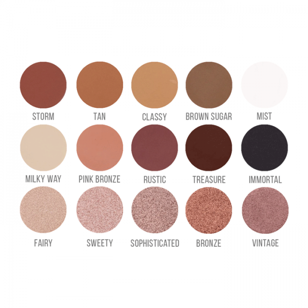 Paleta farduri Brownie Dannes Beauty