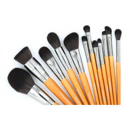 Set 12 pensule make-up Leonardo Basic și ETUI cadou