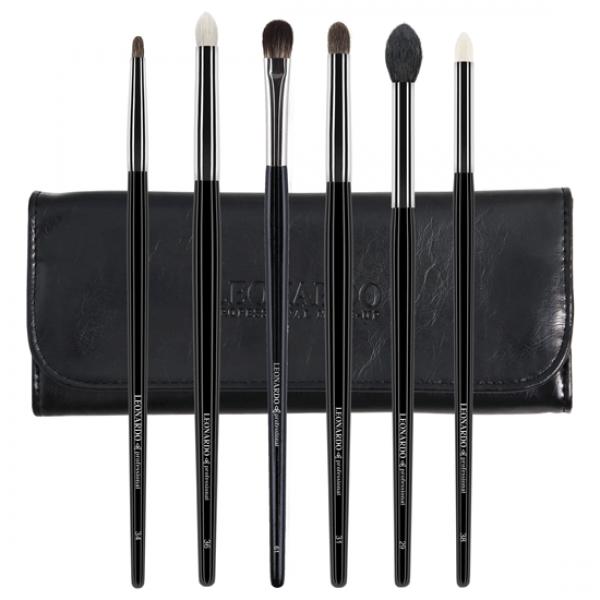 Set 6 pensule make-up Leonardo Blending