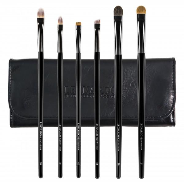 Set 6 pensule make-up Leonardo Ochi