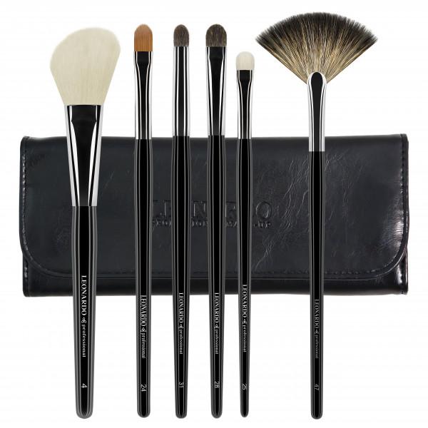 Set pensule make-up Leonardo Basic 2
