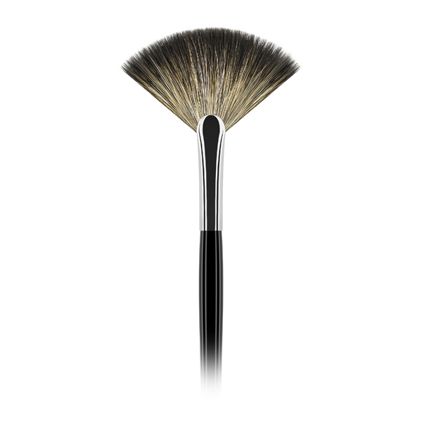 Pensula make-up Leonardo 47 Evantai, păr de capră